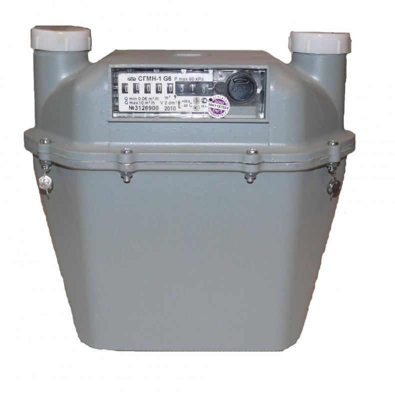 СГМН-1 G6 (200мм) Счетчик газа (левый)
