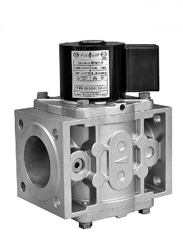 Клапан ВН2Н-3 У Фланцевый угловой